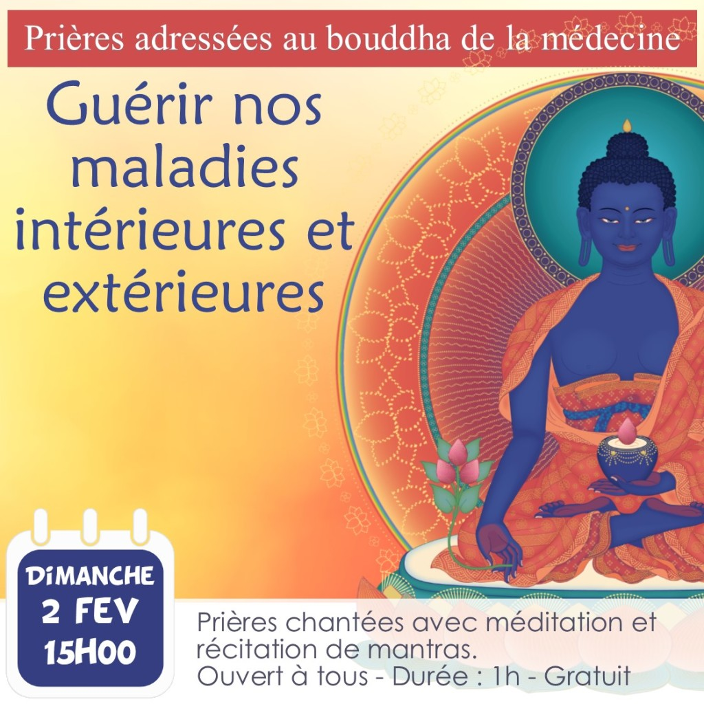 Prières adressées au bouddha de la médecine 2 fev