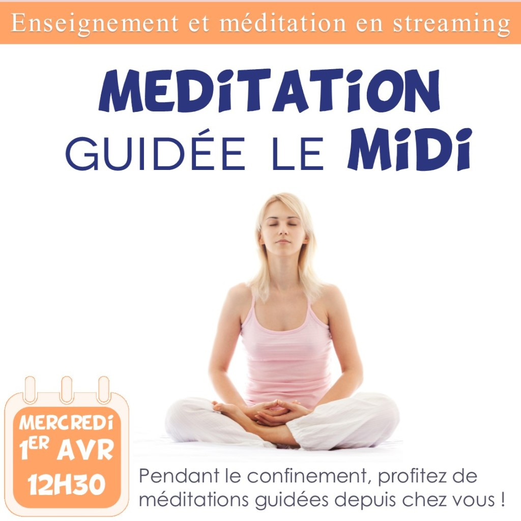 Instagram - méditation midi 1er avril (vidéo)